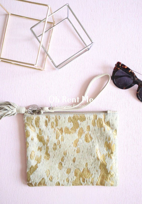 Mickey Gold + Bone Clutch Clothing Mooi