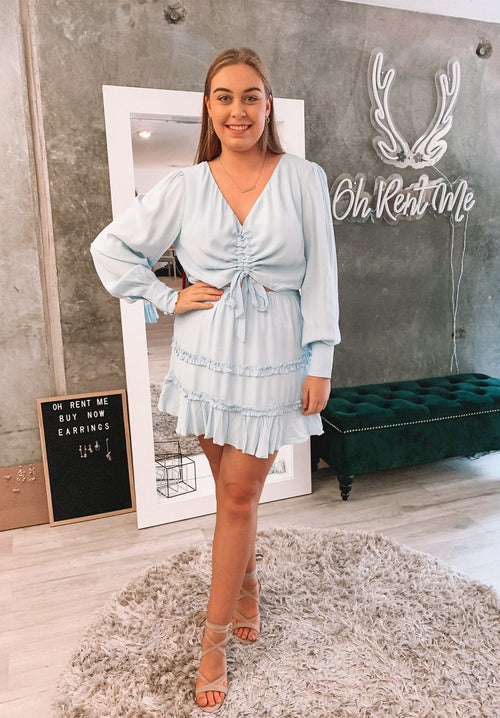 Olia Mini Dress Clothing Savel