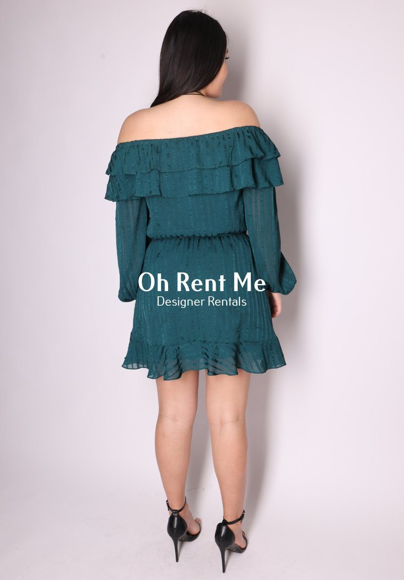 Elena Dress - Emerald Clothing Pia Boutique