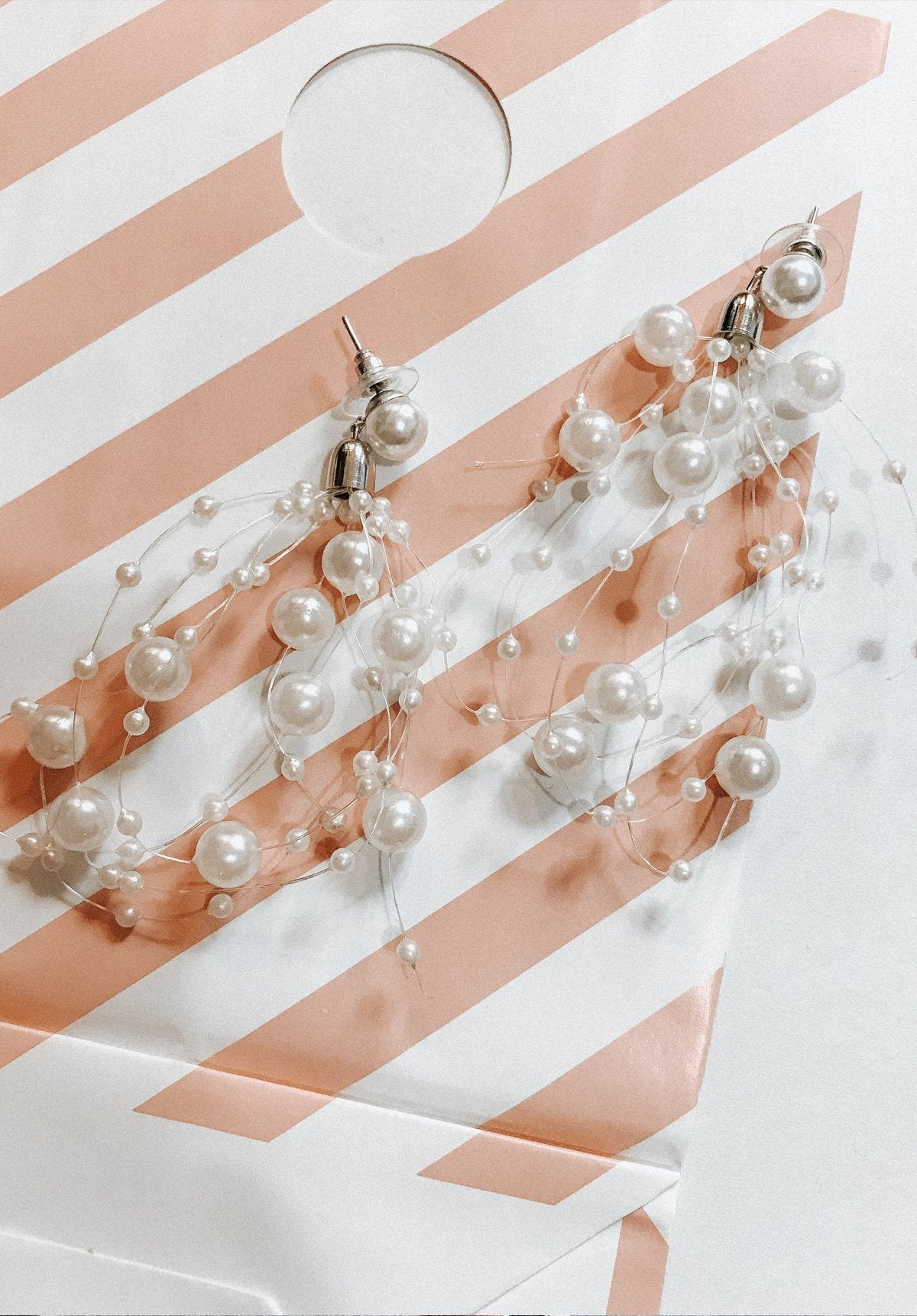 Pearl Cluster Earrings Gift Card Oh Rent Me