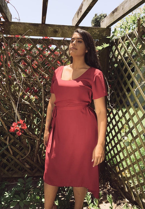 Plum Maxi Clothing Amber Whitecliffe