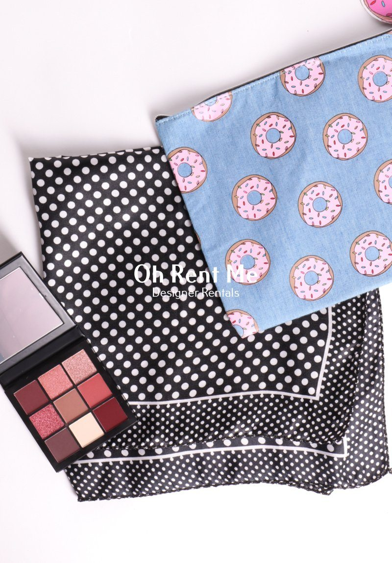 Polka Dot Scarf Gift Card Oh Rent Me