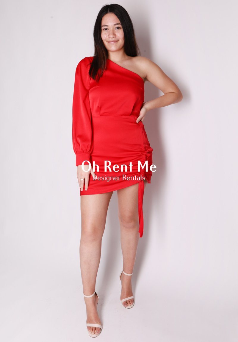 Vangeline Dress - Red Clothing Kookai