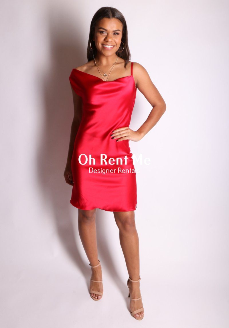 Lady in Red Clothing Oh Rent Me