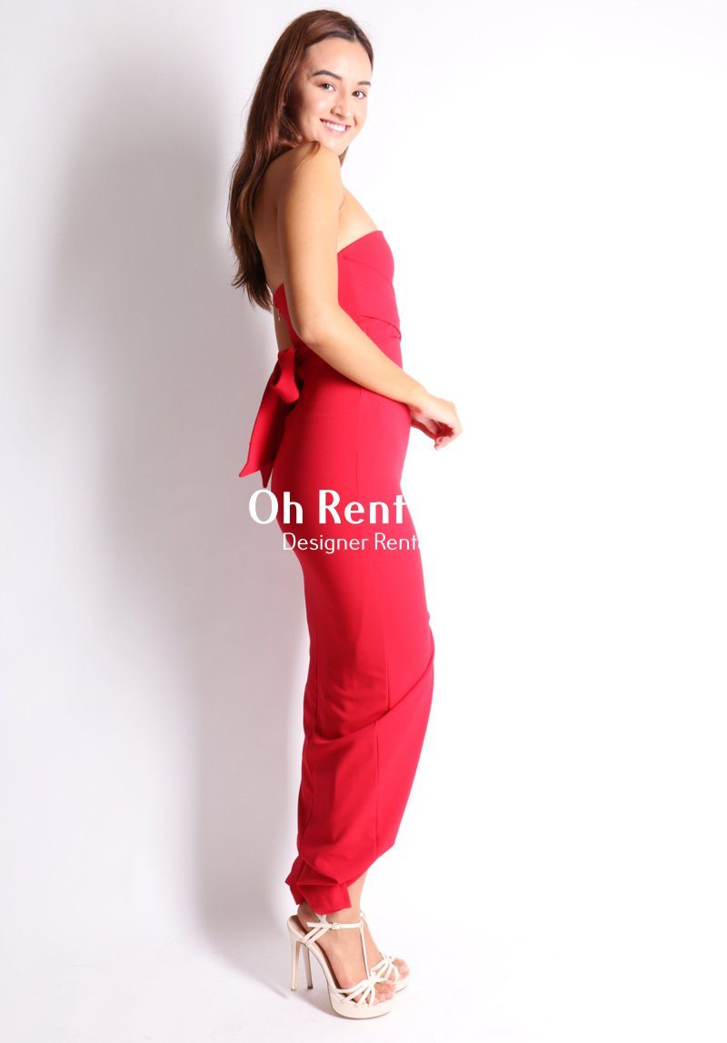 Royal Gown - Red Clothing Nookie