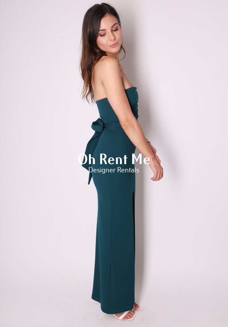 Royal Gown - Teal Clothing Nookie