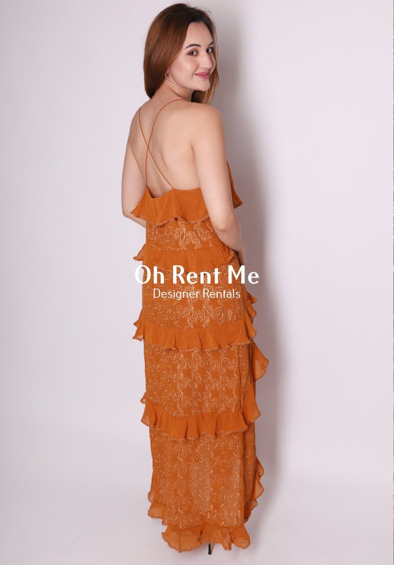 Tempo Maxi Dress Clothing Isla