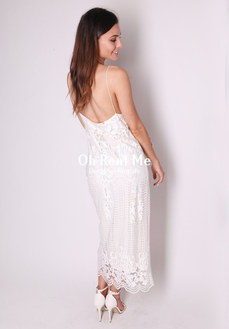 Lace Split Slip Clothing Stolen from My Sister