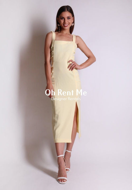 Bonita Dress - Yellow 8