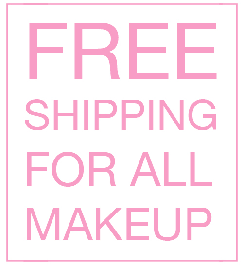 Free Shipping For All Makeup