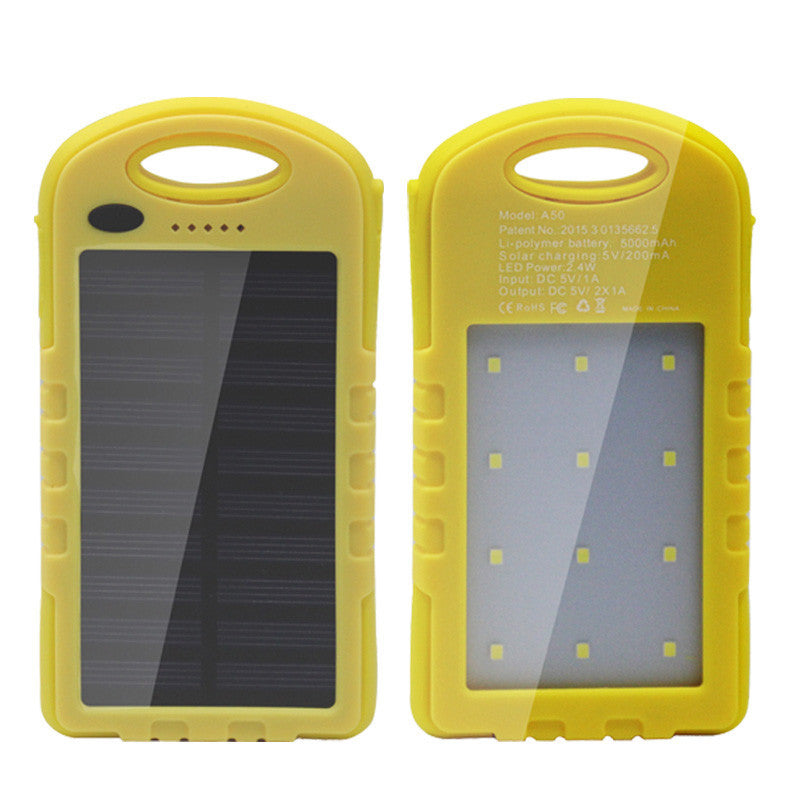 Portable Solar Power Battery Charger