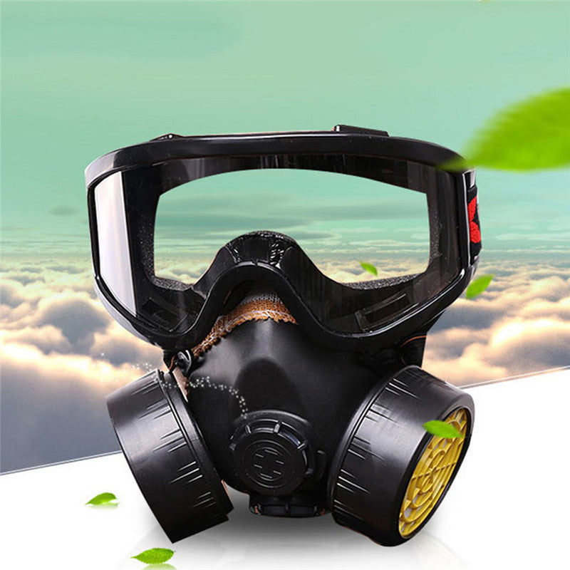 Gas Mask Protection Chemical Gas Filter