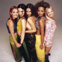 Sartorial style nod to our noughties style icons the Spice Girls!