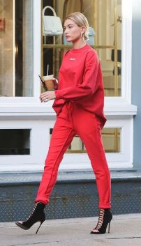 hailey bieber HyperLuxe activewear