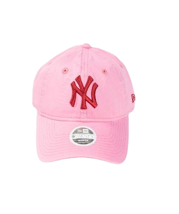New Era X Hyperluxe NY Washed Pink
