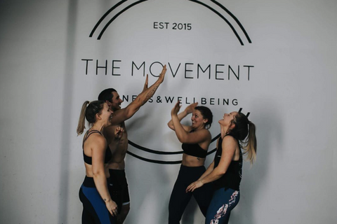 The movement gym welcoming team spirit