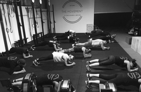 The movement gym fitness class