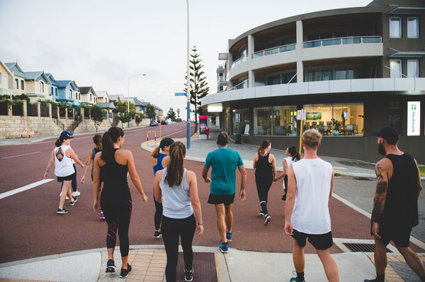Join Hyperluxe for our training for the HBF Run for a reason