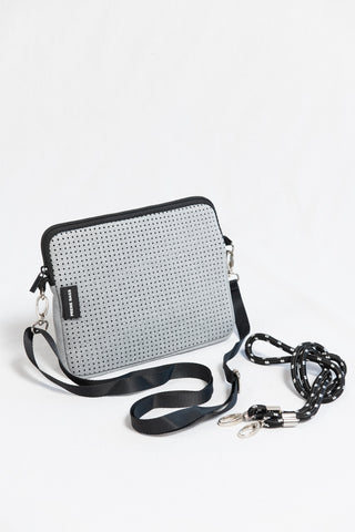 Prene Bags The Pixie Bag- Light Grey Marle