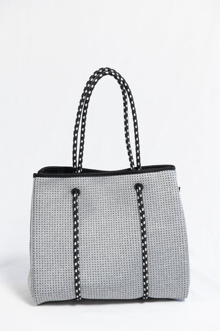 Prene Bags The Portsea Bag- Light Grey