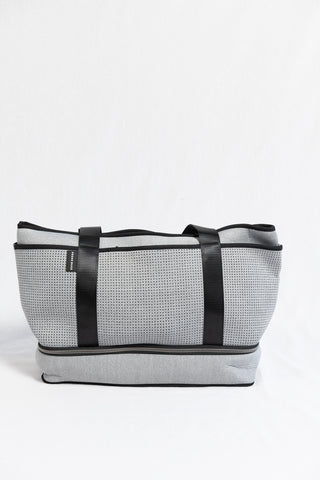 Prene Bags The Sunday Bag- Light Grey Marle