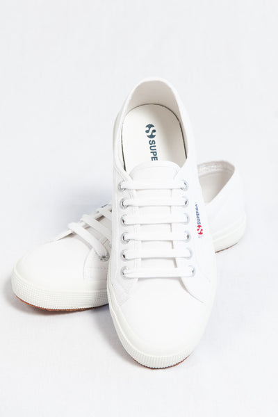 Superga Cotu Classic White - HyperLuxe Activewear
