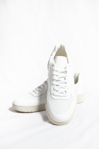 Veja V-10 Leather Sneaker- Extra White