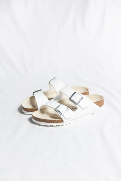 Birkenstock Arizona BF Sandal, Regular- White - HyperLuxe Activewear
