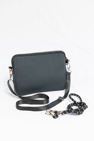 Prene Bags The Pixie Bag- Charcoal - HyperLuxe Activewear