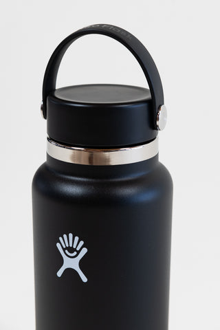 Hydro Flask Hydration 32oz Wide- Black - HyperLuxe Activewear