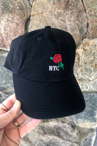New Era 940 Rose Cap- Black