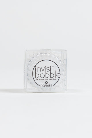 Invisibobble Power Crystal Clear Hair Tie - HyperLuxe Activewear