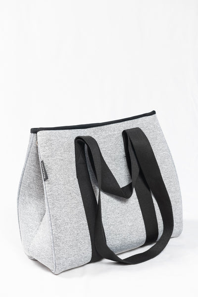 Prene Bags The Gigi Bag- Light Grey Marle - HyperLuxe Activewear