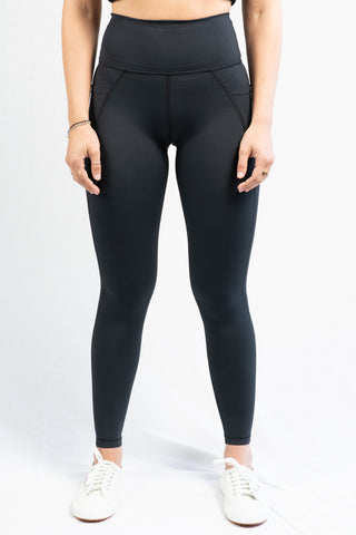 Vie Active Lili Full Length Legging- Black