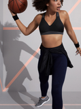 Berlei Bra Electrify Mesh Crop- Black - HyperLuxe Activewear