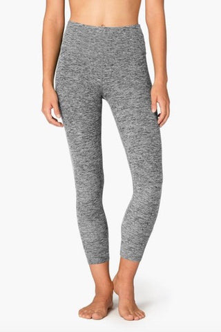 Beyond Yoga Spacedye Yoga High Waisted Midi legging- Black/ White - HyperLuxe Activewear