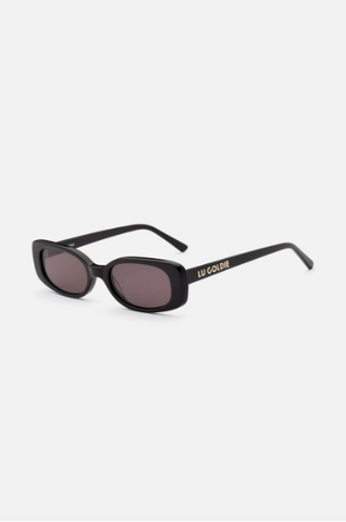 Lu Goldie Solene Sunglasses- Black - HyperLuxe Activewear