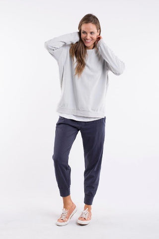 Elm Wash Out Lounge Pant- Navy