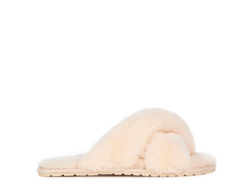 Emu Australia Mayberry Slipper- Natural - HyperLuxe Activewear