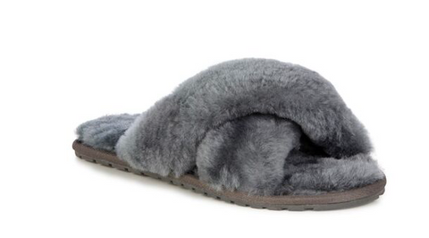 Emu Australia Mayberry Slipper- Charcoal - HyperLuxe Activewear