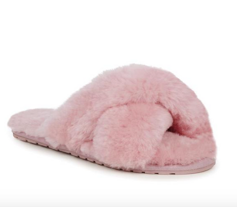 Emu Australia Mayberry Slipper- Baby Pink - HyperLuxe Activewear