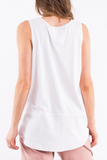 Elm Fundamental Rib Tank- White