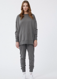 Jac + Mooki Willow Tunic Sweat- Sedonia Sage