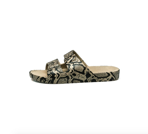 Freedom Moses Print Sandals- Cobra Sands