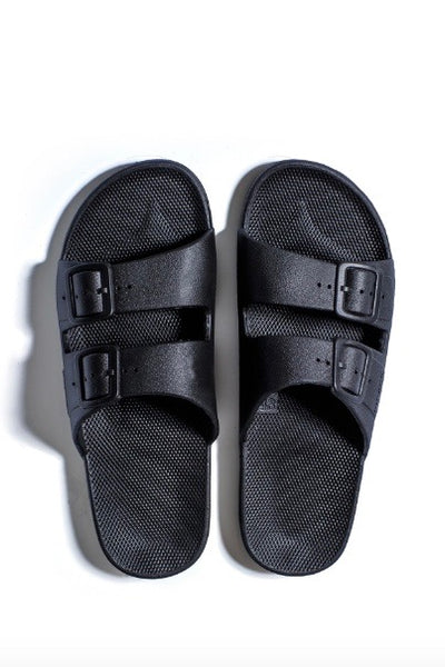 Freedom Moses Sandals- Black