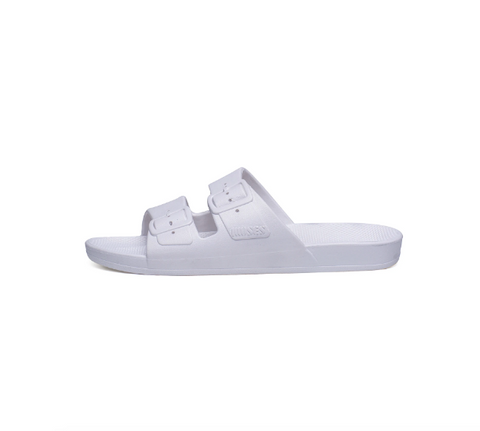 Freedom Moses Sandals- White