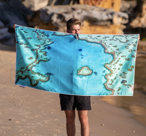 Destination Towels Reef Love