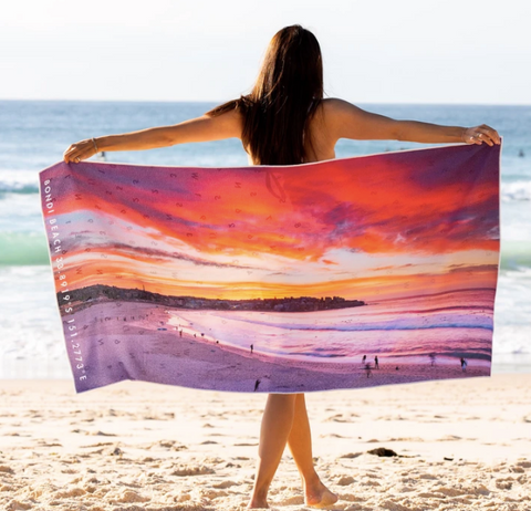Destination Towels Bondi Inferno