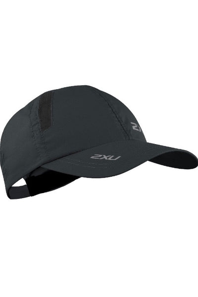 2XU Run Cap- Black/ Black