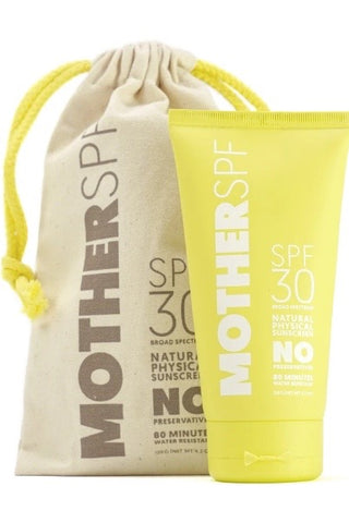 Mother SPF- Non Tinted Daily Face & Body- SPF30 120g
